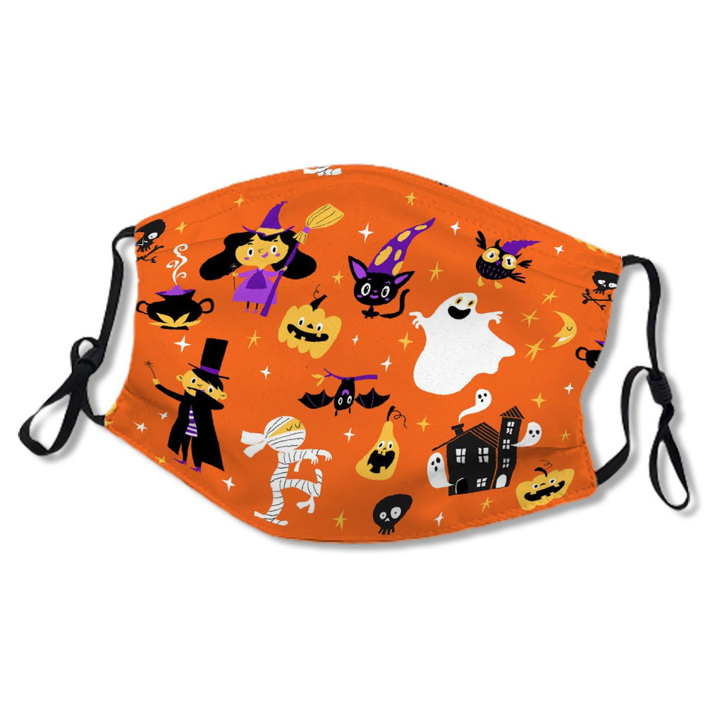 Halloween Cute Pattern No. GN6PE8