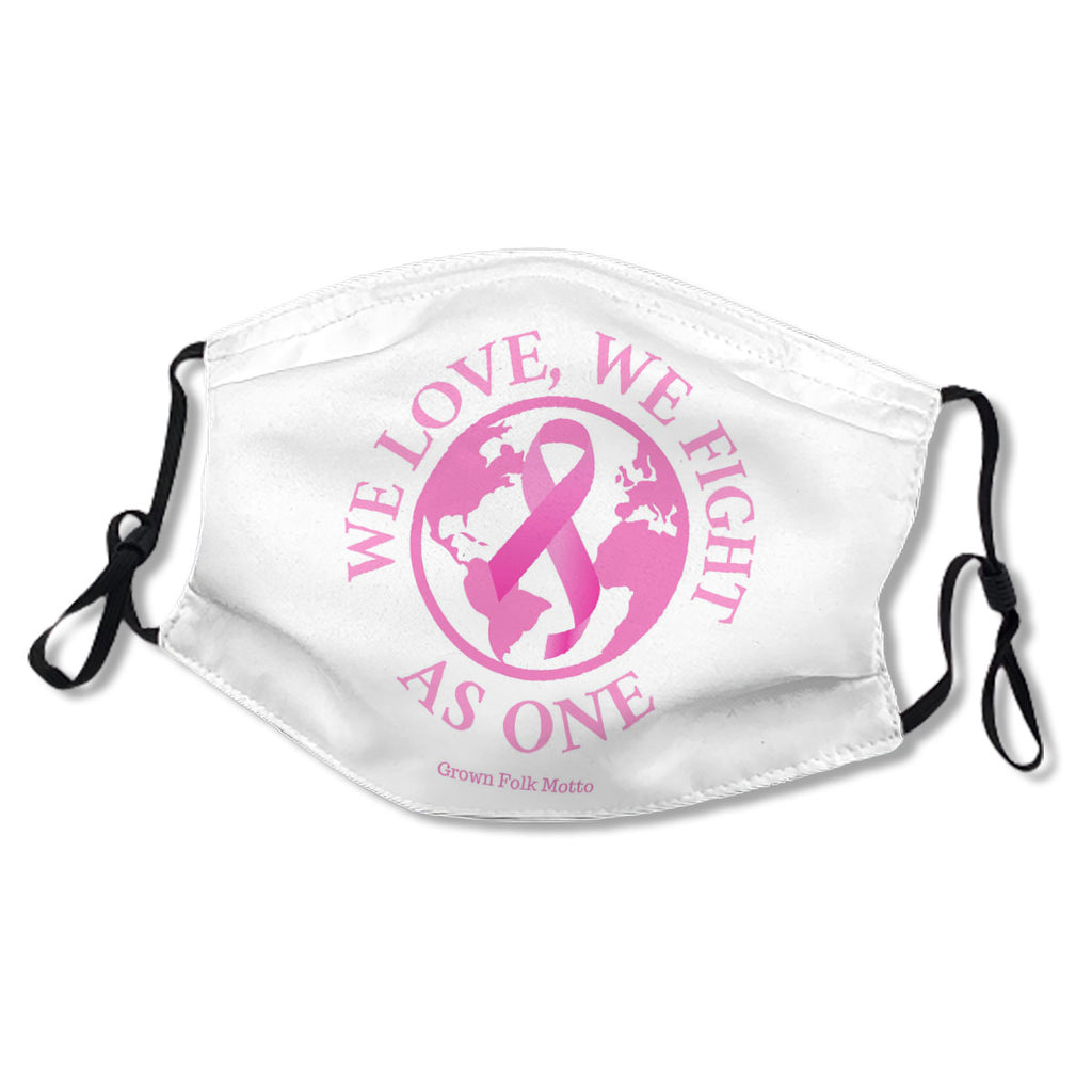 We Love, We Fight As One Breast Cancer Awareness NO. RDEZLO