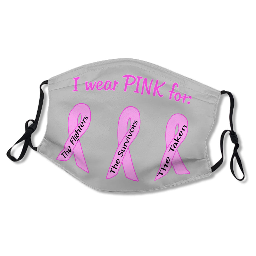 Breast Cancer Awareness Ribbons Cloth NO. WERVS6