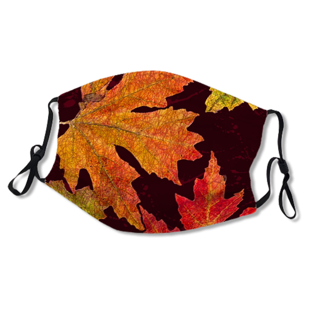Mask Fall Leaves Design No. WVX25P
