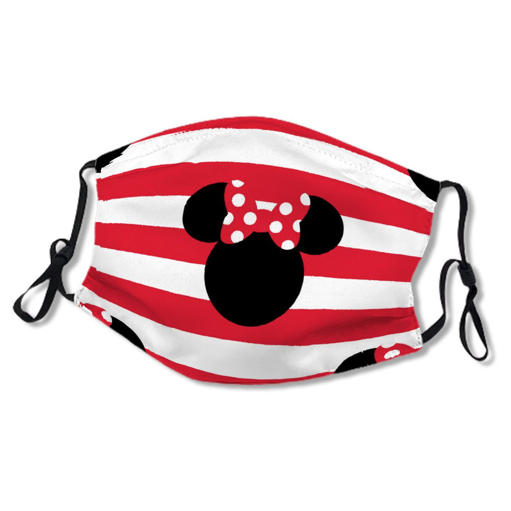 M Mouse Red & White Stripes No.ZGLX39