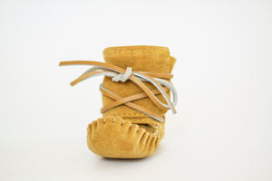 Baby Laurentian Chief High-Top Wrap Moccasins