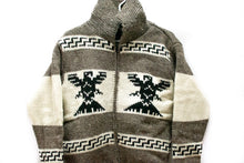 Load image into Gallery viewer, Hand-Knitted Thunderbird Sweater