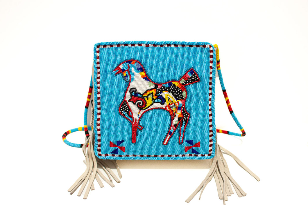 Blackfoot Beaded Bag