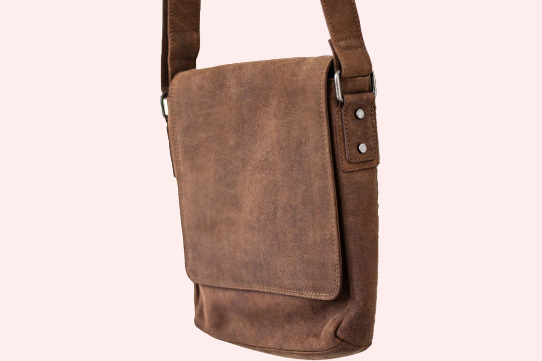 Buffalo Hide Messenger Bag #2430