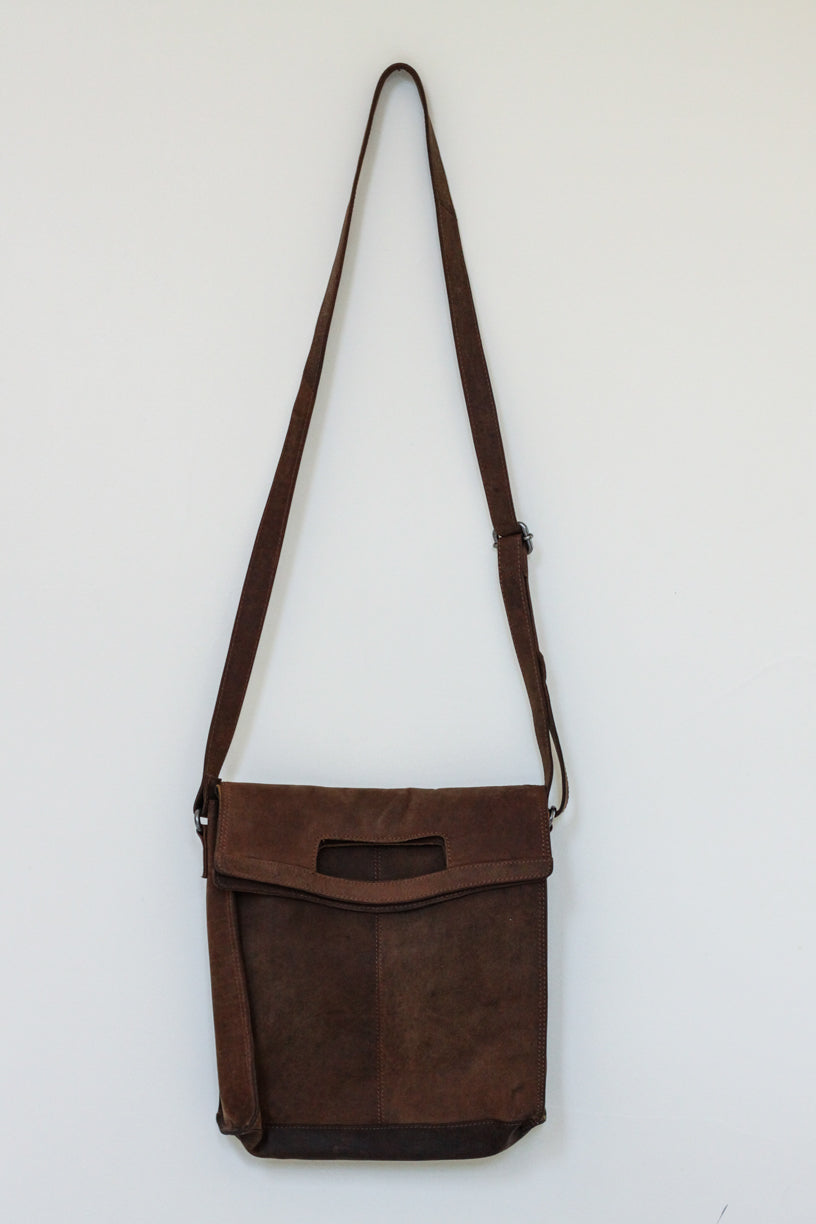 Buffalo Hide Messenger Bag #2807