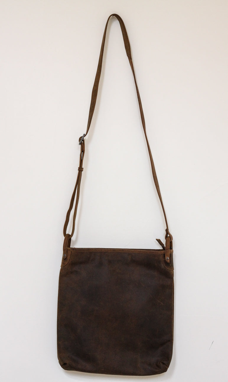Buffalo Hide Messenger Bag #2837
