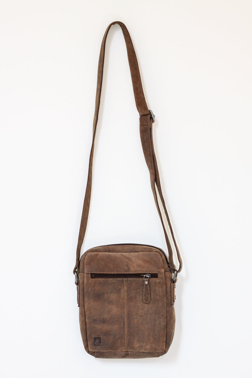Buffalo Hide Shoulder Bag #2742
