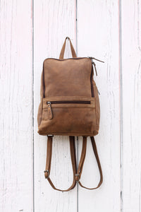 Buffalo Hide Backpack #2399