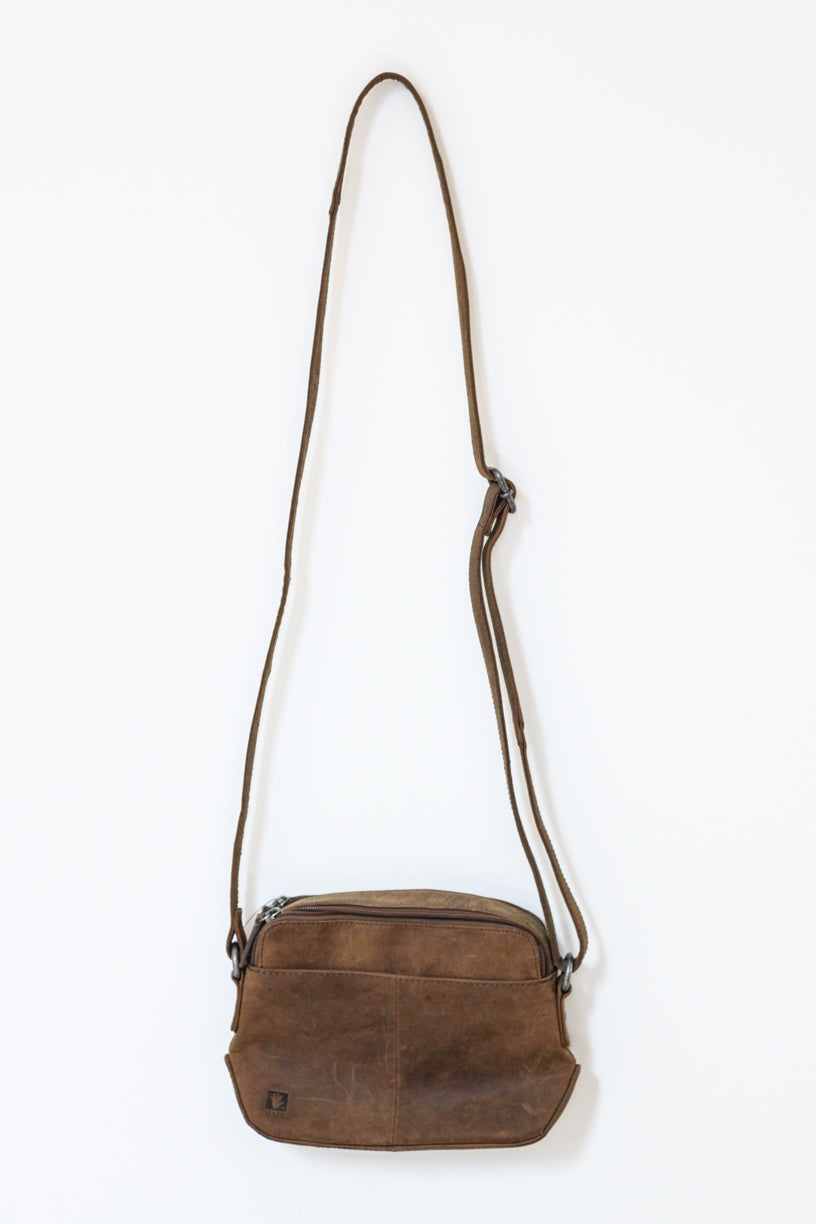 Women's Buffalo Hide Shoulder Bag #2815