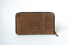 Load image into Gallery viewer, Buffalo Hide Passport Holder + Organiser #292