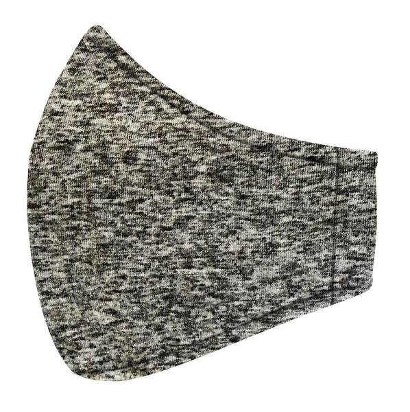 Dark Gray Marl Jersey Mask