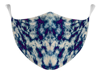 Haze Tie Dyed Mask