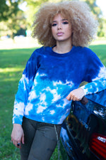 Load image into Gallery viewer, Calvin Klein Tie-Dye Sweatshirt - Tops & Blouses For Women