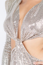 Load image into Gallery viewer, Zerissa Sequin Dress