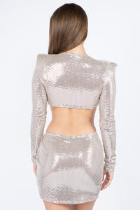 Zerissa Sequin Dress