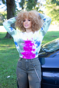 Pick Me Up Tie-Dye Sweatshirt