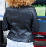 Load image into Gallery viewer, Zaira Leather Jacket