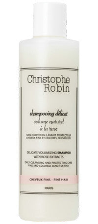 Christophe Robin Delicate Volumizing Shampoo with Rose Extracts
