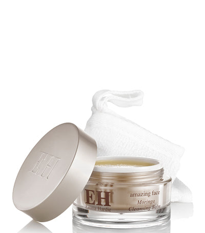 emma hardie moringa cleansing balm with cloth