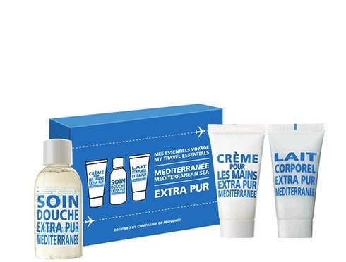 compagnie de provence my travel essentials box set mediterranean sea