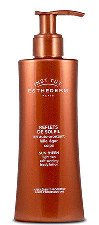 Institut Esthederm Sun Sheen Light Self Tanning Body Lotion