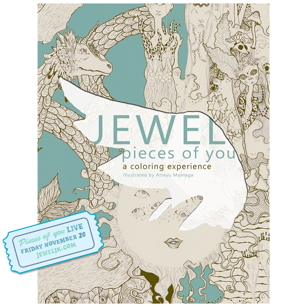 A Jewel Coloring Experience + Free Live Stream Ticket