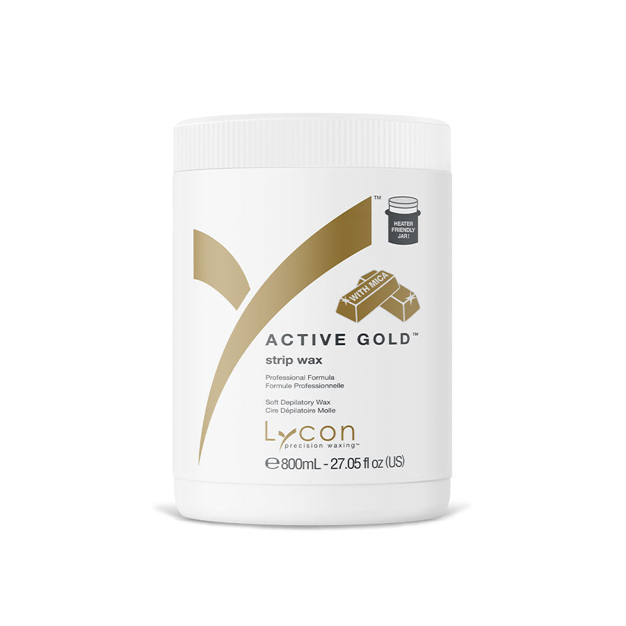 Lycon Active Gold Strip Wax