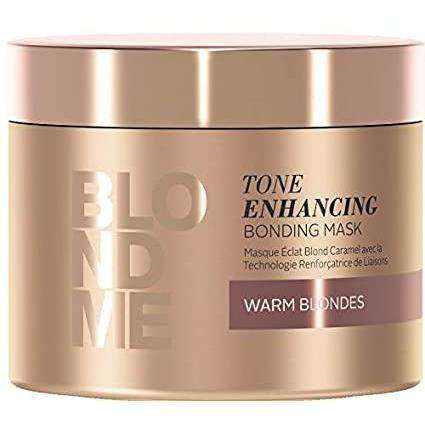 Schwarzkopf Professional BLONDME Tone Enhancing Bonding Mask for Warm Blondes