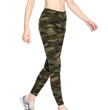 Load image into Gallery viewer, Women's Camouflage Camo Skinny Leggings Active Sports Tights Leggings