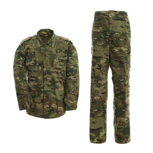 Men's Tactical BDU Uniform Combat Military Jacket Coat and Pants Set
