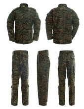 Load image into Gallery viewer, Men's Tactical Jacket and Pants Military Camo Hunting ACU Uniform Set