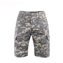 Carregar imagem no visualizador da galeria, Men's Military Tactical Short Ripstop Cargo Multi-Pocket Urban Trouser