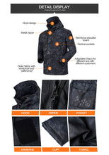 Load image into Gallery viewer, Men's Army Officer Tactical Hoodie Jacket Military Uniform Windbreaker