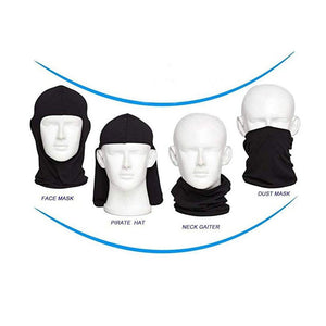 Men Balaclava Windproof Dust Neck Gaiter Sun Shield Bandanas
