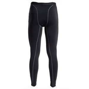 Men's Sport Thermal Fleece Compression Base Layer Leggings/Tights