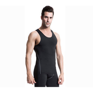 Mens Sleeveless Compression Undershirts Cool Dry Baselayer Tank Top