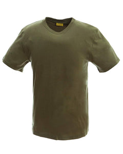 Camo T-shirts for Mens Army Military Training Outdoor Woodland Camo Short Sleeve Tee