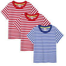 Carregar imagem no visualizador da galeria, Kids Boys GirlsT-Shirt Slim Fit Crewneck Shirts Summer Soft Tees Tops