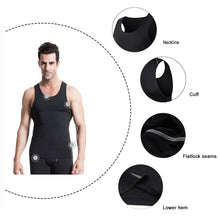 Load image into Gallery viewer, Mens Sleeveless Compression Undershirts Cool Dry Baselayer Tank Top