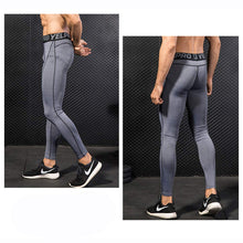 Load image into Gallery viewer, 2 Pack Mens Compression Leggings Cool Dry Base Layers Running Tights