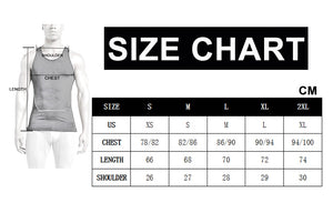 Men's Breathable Sport Vest Sleeveless Compression Tank Top