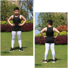 Load image into Gallery viewer, Youth Boys Compression Vest Sleeveless Undershirt Under Tank Top Shirt