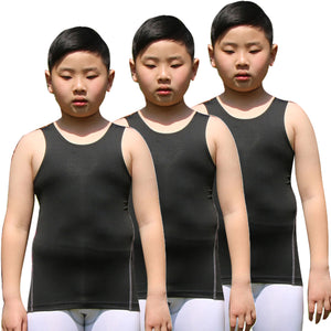 Youth Boys Compression Vest Sleeveless Undershirt Under Tank Top Shirt
