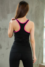 Carregar imagem no visualizador da galeria, Women Racerback Athletic Tank Tops Yoga Shirts Compression Base Layer