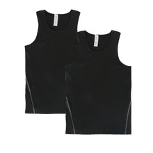Carregar imagem no visualizador da galeria, Kids Athletic Sleeveless Tank Top Boys Vest 2 Pack
