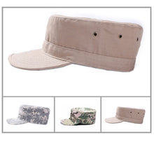 Load image into Gallery viewer, Hunting Cadet Army Basic Flat Top Cap Military Tactical Hats For Men