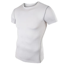 Load image into Gallery viewer, Men's Training Top Compression Short Sleeve Quick Dry Base Layer Shirt