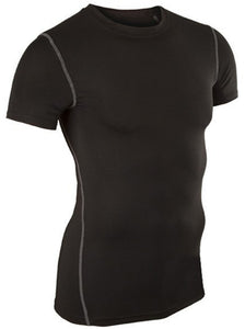 Men's Training Top Compression Short Sleeve Quick Dry Base Layer Shirt
