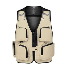 Load image into Gallery viewer, Mens Fishing Vest Multipockets Adjustable Gilet Photography Waistcoats